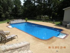 Inground Swimming Pool Install
